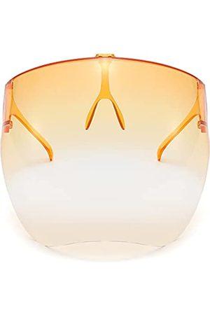 100 CLASSIC Mehrfarbige Schutz-Sonnenbrille, leichtes Visier, volle Gesichtsabdeckung, UV 400
