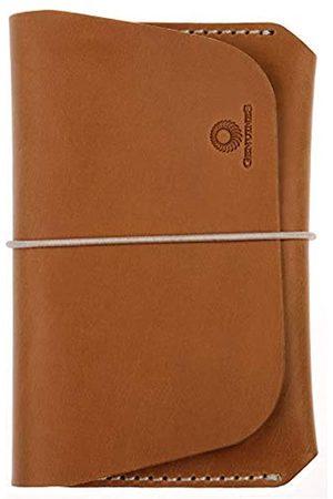 Genuines Reisepasshülle aus Leder für Damen und Herren – echtes Portemonnaie für 1 oder 2 Pässe