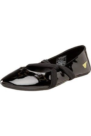 Gola Damen Inspire Flat, Schwarz (schwarzer Lack)