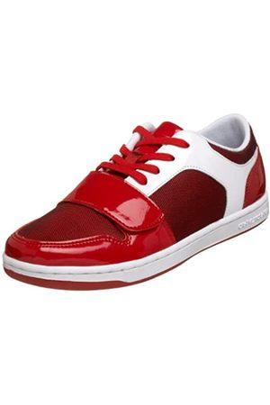 Creative Recreation Damen Cesario Lo Low-Top Sneaker, (Rotes Netz)