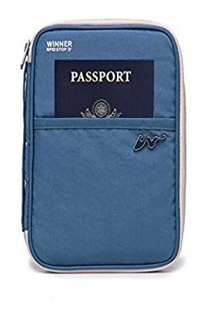 MIVOVN RFID-blockierender und wasserdichter Reisepasshalter, Reise-Organizer