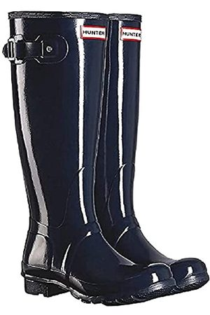 Hunter Original Back Adjustable Gloss Ladies Shoes Size 6