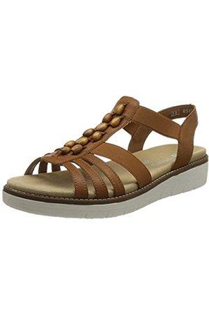 Remonte Damen D2065 Sandale, Cayenne/Gaucho / 24