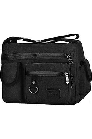 Scioltoo Schultertasche für Frauen Kleine Tablet Tasche Stabile Satchel Stil Geldbörse Outdoor Messenger Bag Sling Bag für Herren