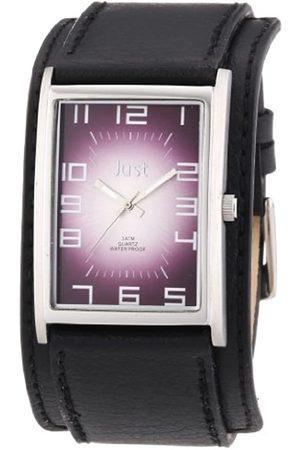 Just Watches Damen-Armbanduhr Analog Quarz Leder 48-S9235PR