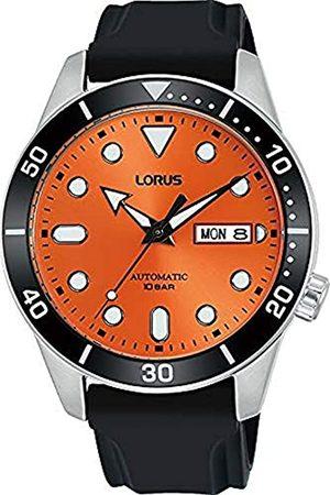 Lorus Herren Analog Automatisch Uhr mit Silicone Armband RL453AX9