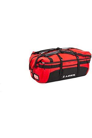 LEER Gear 1LG0901000 Wandelbare Reisetasche, erweiterbar von 80 bis 120 Liter, gepolsterte und verstellbare Gurte, 36,3 kg Kapazität