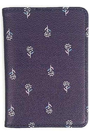 Wallace Elec Reisepasshülle, mit modischem Muster, Premium-PU-Leder außen und innen, Reisepasshülle