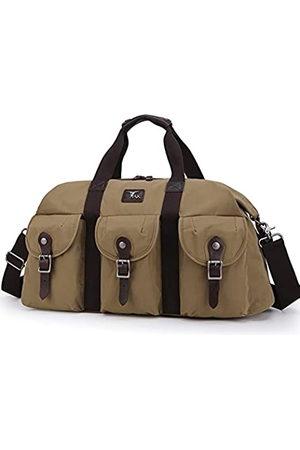 TAK Reisetasche, übergroß, Wochenendtasche, echtes Leder