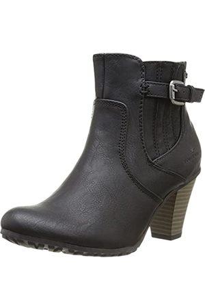 TOM TAILOR Damenschuhe, Damen Kurzschaft Stiefel, (black)