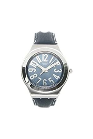 Swatch YGS126_WW Herren-Armbanduhr Lederarmband