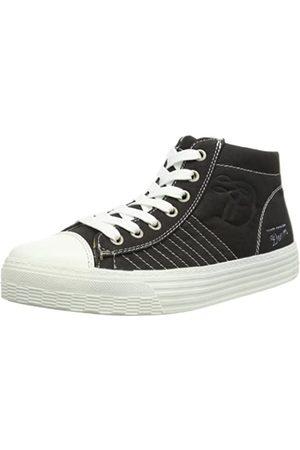 TOM TAILOR Denim Female 5495808 Damen Sneaker, (black)