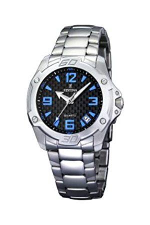 Festina Damen-Armbanduhr Analog Quarz Edelstahl F16387/2