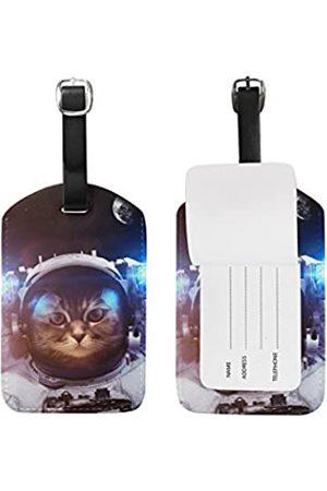 alaza U Life Gepäckanhänger / Gepäckanhänger mit Galaxie-Planeten-Motiv