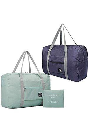 SUNTRY Faltbare Reisetasche, wasserdicht, tragbar, leicht, Reisegepäck für Sport, Fitnessstudio