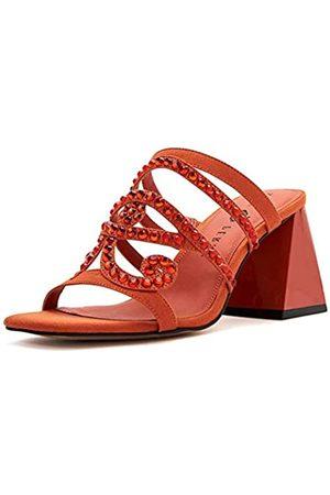 Katy perry Damen The Layla Jeweled Block Heel Sandale mit Absatz