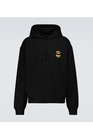 Dolce & Gabbana Sweatshirts - Bestickter Hoodie