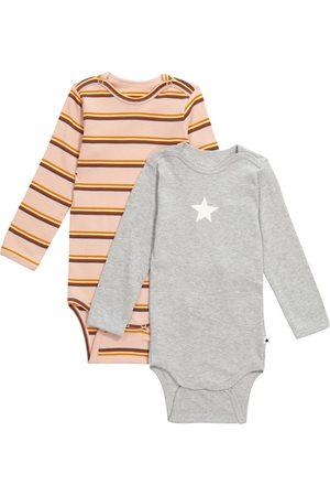 Molo Baby Set aus 2 Bodys Foss aus Baumwolle