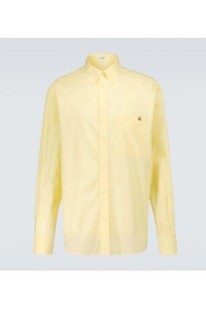 Loewe Blusen - Besticktes Hemd aus Baumwolle