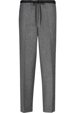 Jil Sander Damen Jogginghosen - High-Rise Hose aus einem Wollgemisch