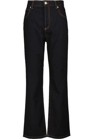 Loewe High-Rise Jeans mit geradem Bein