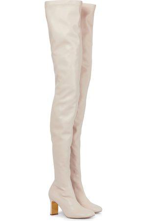 Stella McCartney Damen Overknee Stiefel - Overknee-Stiefel Ivy aus Lederimitat