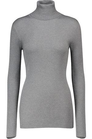Brunello Cucinelli Damen Rollkragenpullover - Pullover mit Kaschmiranteil