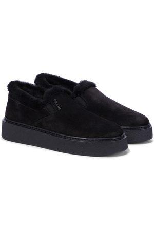 Prada Sneakers Macro aus Veloursleder