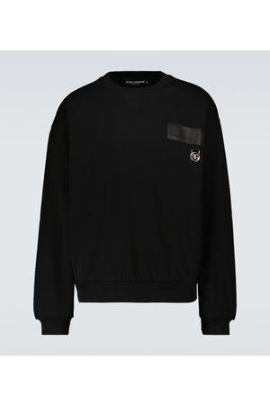 Dolce & Gabbana Bedrucktes Sweatshirt aus Baumwolle
