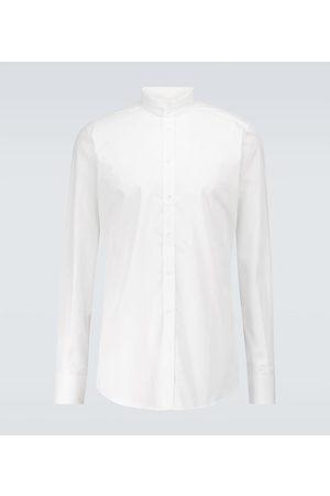 Dolce & Gabbana Longsleeves - Bedrucktes T-Shirt aus Baumwolle
