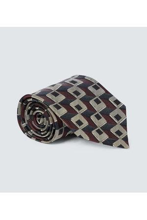 DRIES VAN NOTEN Bedruckte Krawatte aus Seide