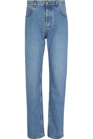 Loewe Damen Straight - High-Rise Straight Jeans Anagram