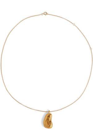Alighieri Damen Halsketten - Vergoldete Halskette The Milkyway Untold