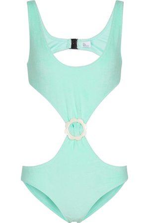 Lisa Marie Fernandez Damen Badeanzüge - Badeanzug aus Frottee