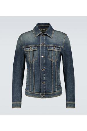 Dolce & Gabbana Jeansjacken - Jeansjacke aus Stretch-Baumwolle