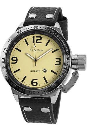 Excellanc Herren-Uhren mit Polyurethan Lederband 295724500006