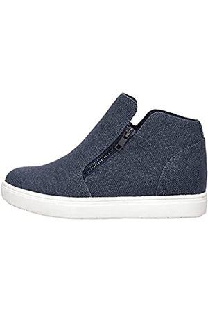 CUSHIONAIRE Women's Hart Hidden Wedge Sneaker +Wide Width Available 8.5