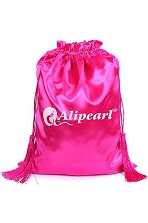 Ali Pearl Seiden-Satin-Verpackungsbeutel für Perücken, Bündel, Haarverlängerungen, Werkzeuge, weiche Seidenbeutel mit Quaste, Geschenk und Reisetaschen