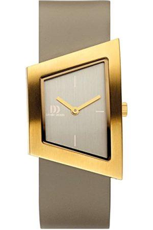 Danish Design Damen Analog Quarz Uhr mit Leder Armband IV15Q1207
