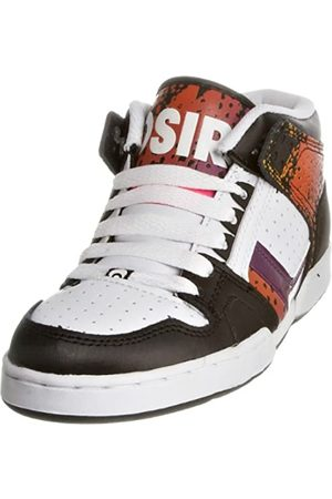 Osiris Nyc 83 Mid 21771378, Damen Sneaker, Black/Multi/Bolt