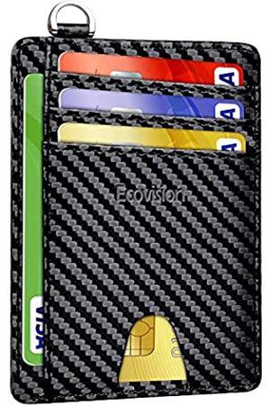 EcoVision Schlankes Kartenetui mit RFID-Blockierung