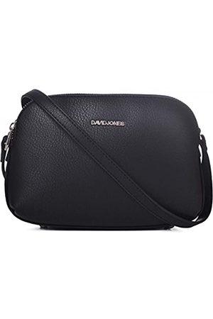 David Jones Damen Mittelgroße Umhängetasche Viele Fächer Taschen - Frauen Schultertasche Reißverschluss PU Leder - Einfach Handtasche - Messenger Crossbody Bag Citytasche Praktisch Mode