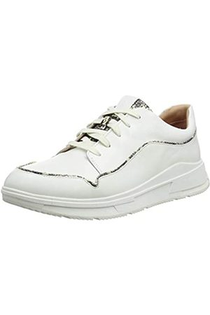 FitFlop Damen Freya LACE UP Low TOP Exotic Piping Sneaker