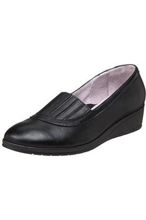 BeautiFeel Irma Loafer für Damen, Schwarz (schwarzes Leder)