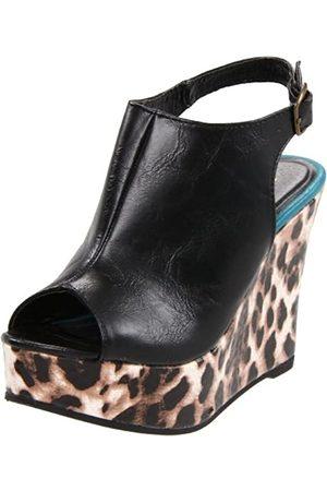 Madden Girl KALIIE Damen, Gelb (Leopard Multi)