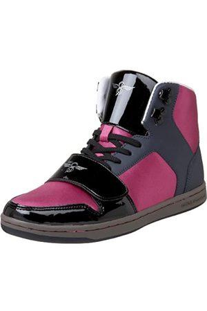 Creative Recreation Cesario Damen-Sneaker mit hohem Schaft, Pink ( /Marineblau/Fuchsia/Gunmetal)