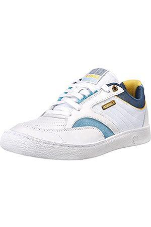 K-Swiss Damen Ambassador Elite Sneaker, White/Sky Blue