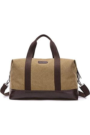 Sunshinejing Unisex Classic Canvas Reisetasche Weekender Tote Duffle Bag Carry On