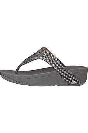 FitFlop Damen Lottie Toe Post-SHIMMERCRYSTAL Flache Sandale