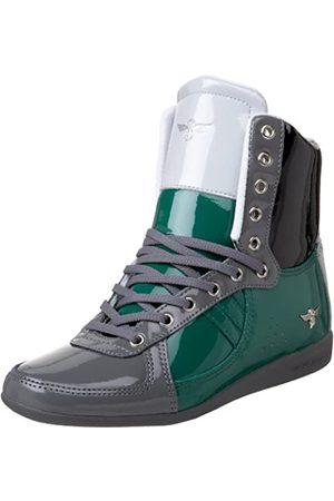 Creative Recreation Damen Galow Hi Fashion Sneaker, Grün (Multi-Patent)